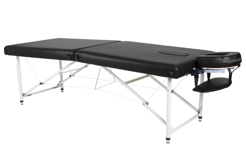 Masă de masaj Lipt® HL-01 (aluminiu) Negru