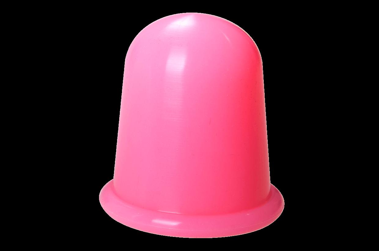 Ventuză de silicon L roz