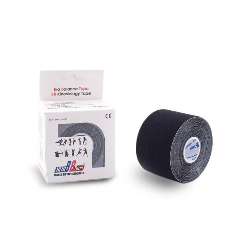 BB tape 5cm x 5m negru