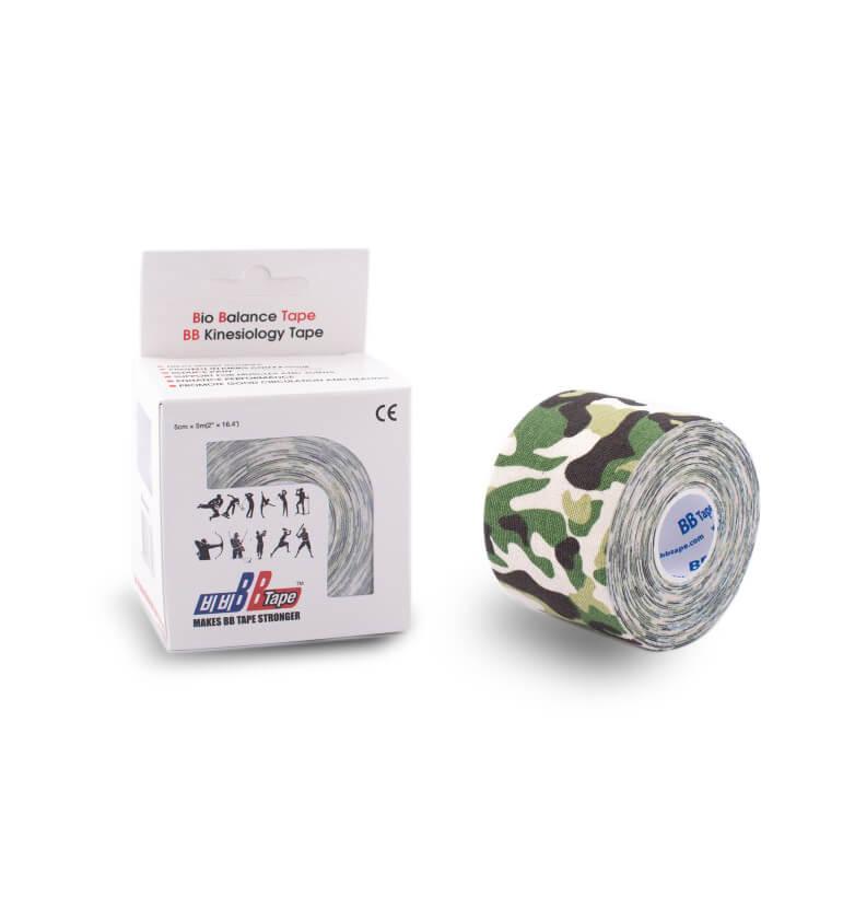 BB tape CAMO 5cm x 5m camo verde