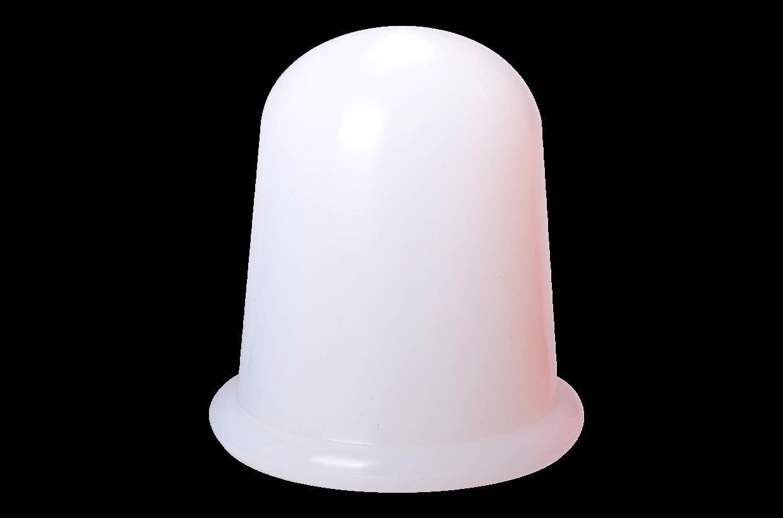 Ventuză de silicon L alb