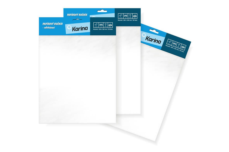 Prosoape de hârtie perforate, 25x32cm / 50 de coli