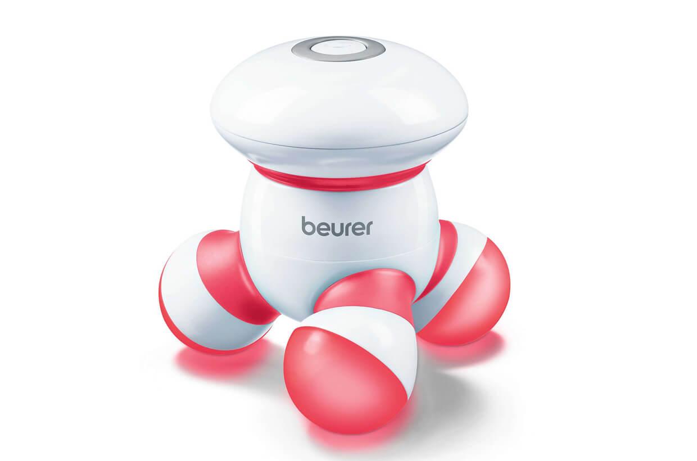 Dispozitivul pentru masaj BEURER MG 16 roșu