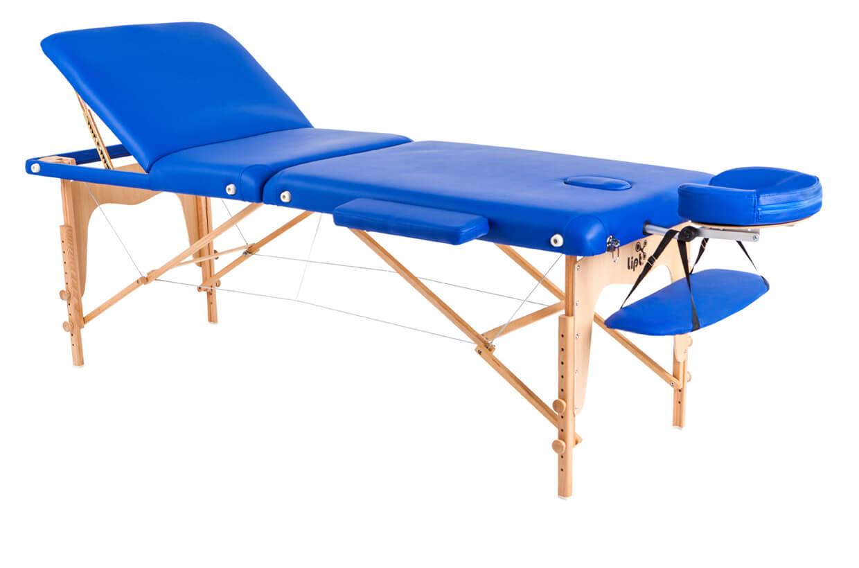 Masă de masaj Lipt® D-05V Albastru