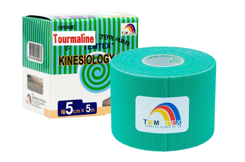 TEMTEX tape Tourmaline 5 cm x 5 m Verde