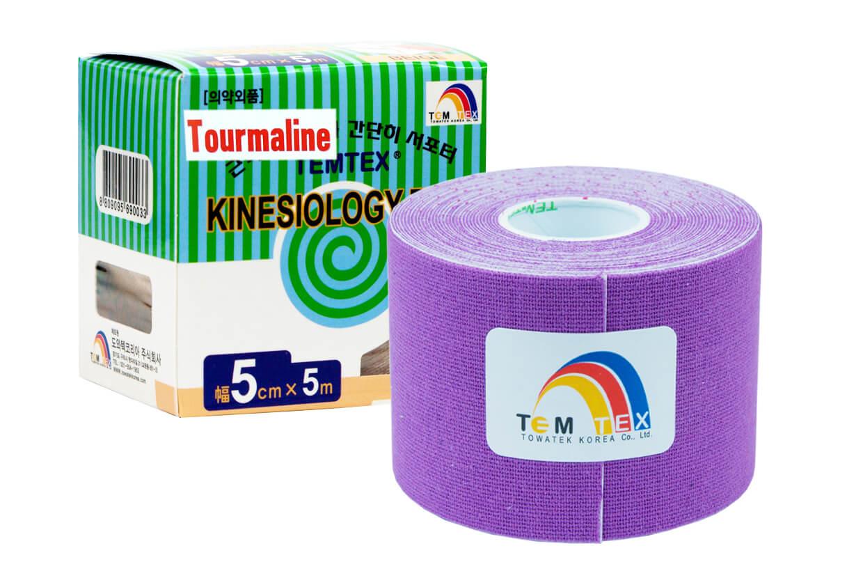 TEMTEX tape Tourmaline 5 cm x 5 m Violet
