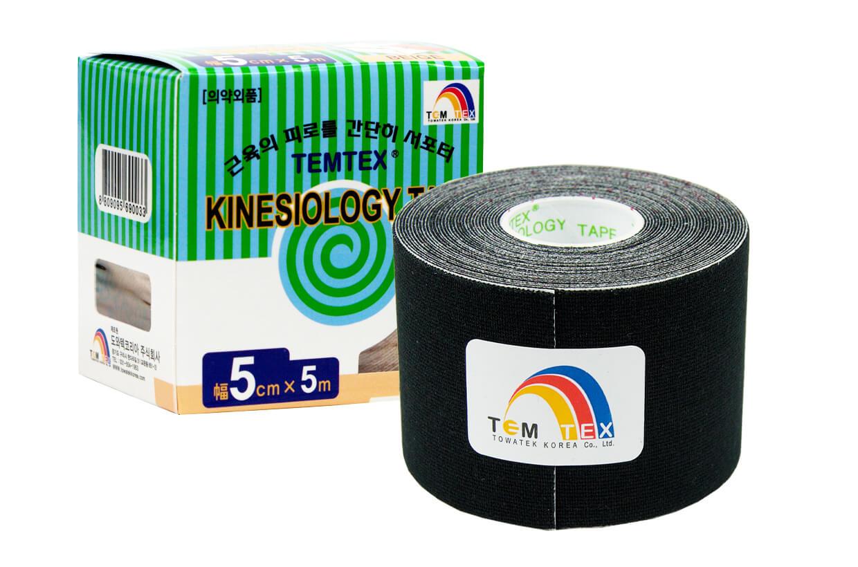 TEMTEX tape Classic 5 cm x 5 m Negru