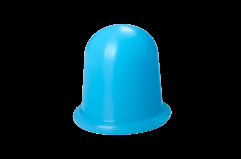 Ventuză de silicon M albastru