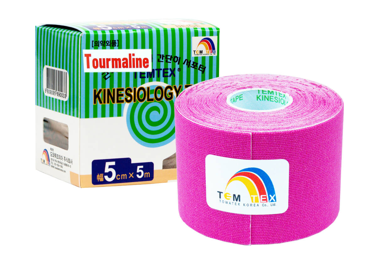 TEMTEX tape Tourmaline 5 cm x 5 m Roz