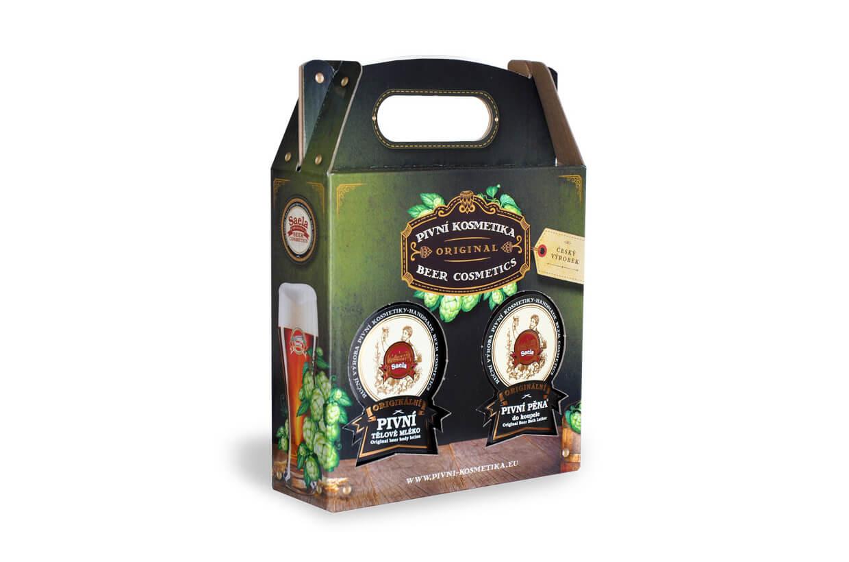 Set de cadouri VII. - lapte de bere plus spumă de bere 2x500ml