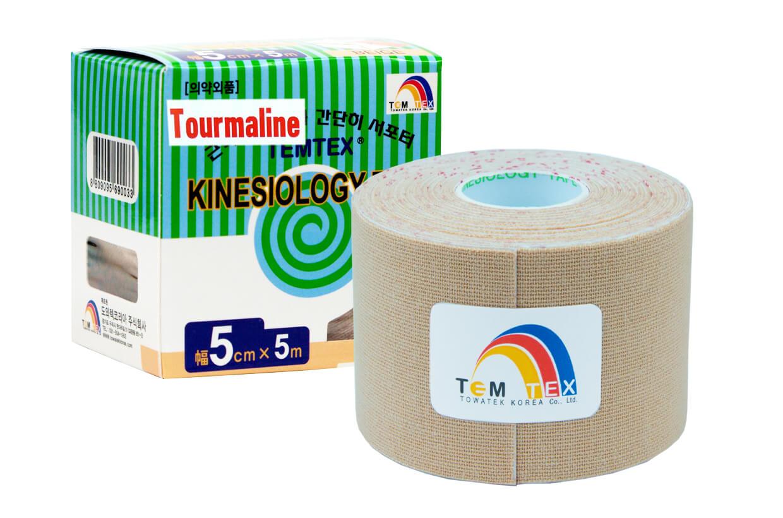TEMTEX tape Tourmaline 5 cm x 5 m Bej