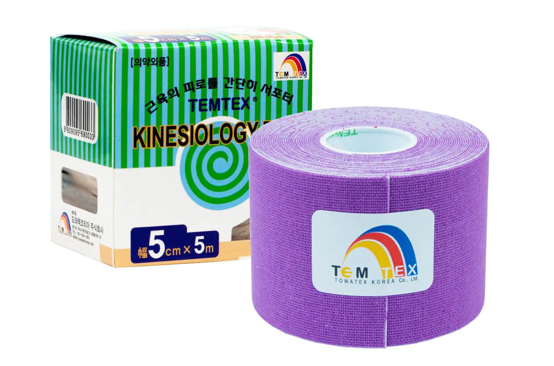 TEMTEX tape Classic 5 cm x 5 m Violet