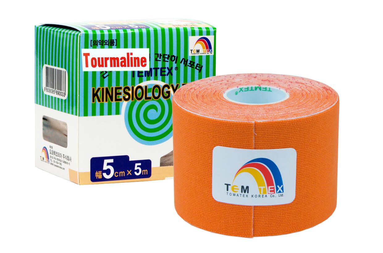 TEMTEX tape Tourmaline 5 cm x 5 m Portocaliu
