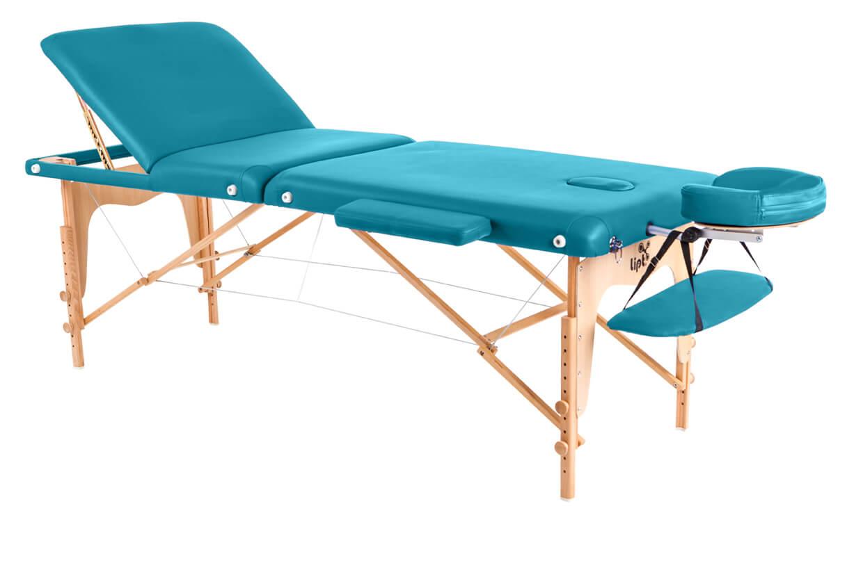 Masă de masaj Lipt® D-05V Turcoaz