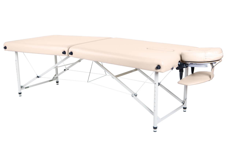 Masă de masaj Lipt® HL-01 (aluminiu) Crem