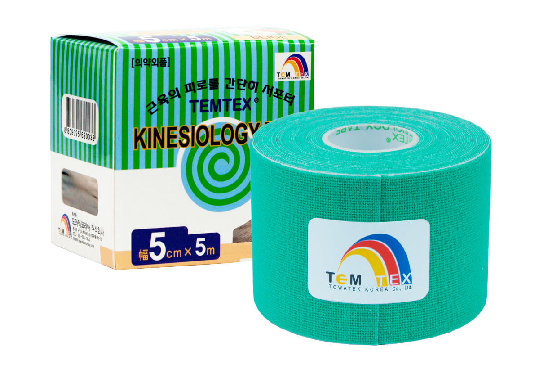 TEMTEX tape Classic 5 cm x 5 m Verde