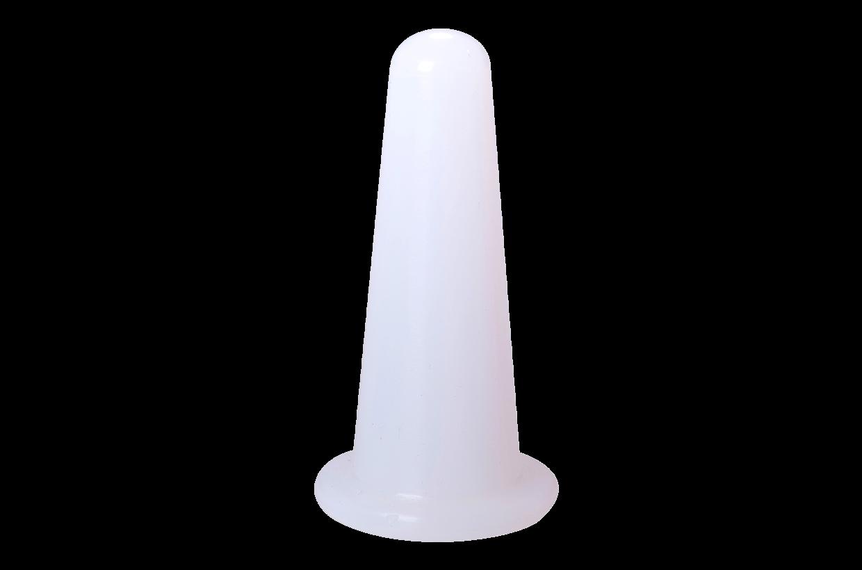 Ventuză de silicon S alb