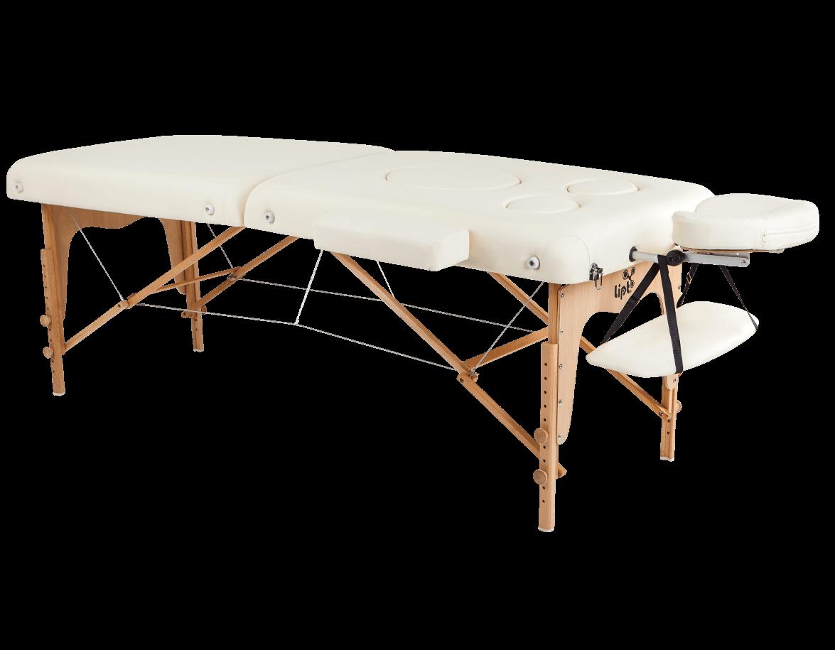 Masă de masaj Lipt® DT-03 (pentru femeile gravide) Crem
