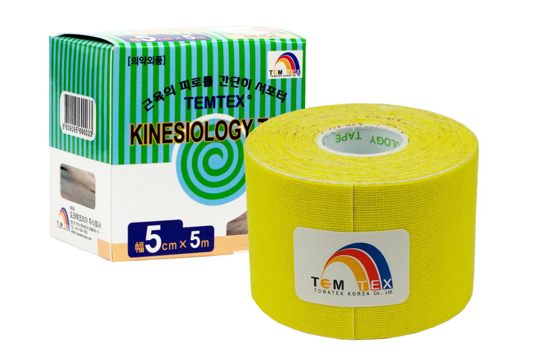 TEMTEX tape Classic 5 cm x 5 m Galben