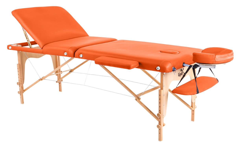 Masă de masaj Lipt® D-05V Portocaliu