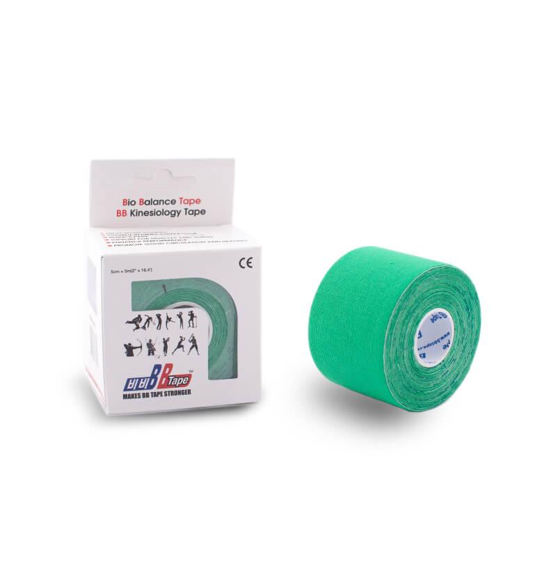 BB tape 5cm x 5m verde