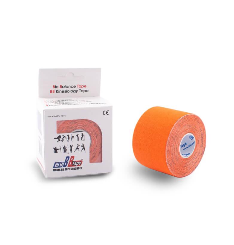 BB tape 5cm x 5m portocaliu
