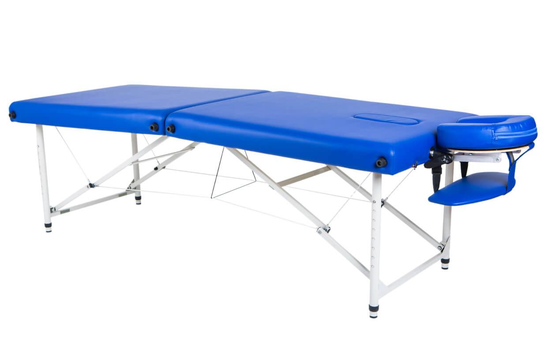 Masă de masaj Lipt® HL-01 (aluminiu) Albastru