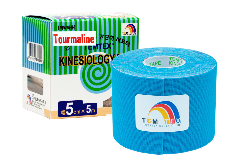 TEMTEX tape Tourmaline 5 cm x 5 m Albastru