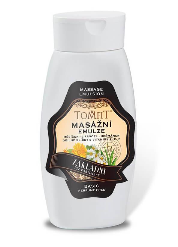 Emulsie de masaj De Bază fără parfum 250ml