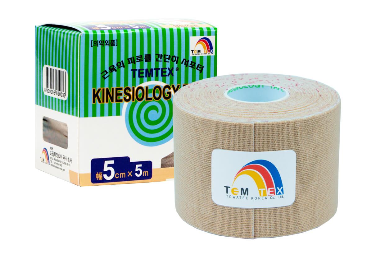TEMTEX tape Classic 5 cm x 5 m Bej