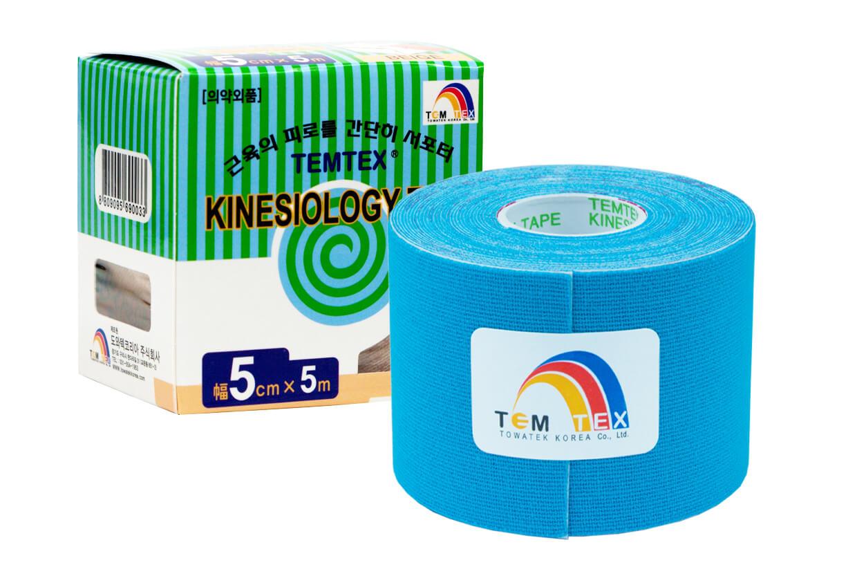 TEMTEX tape Classic 5 cm x 5 m Albastru