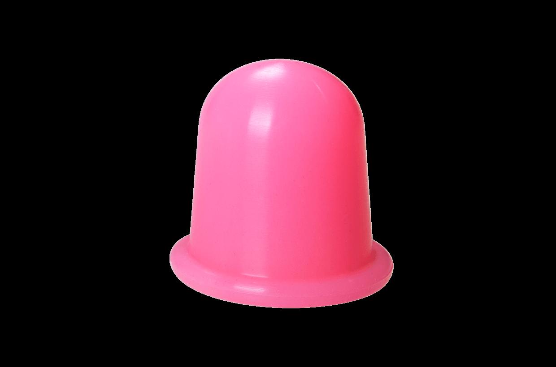 Ventuză de silicon M roz