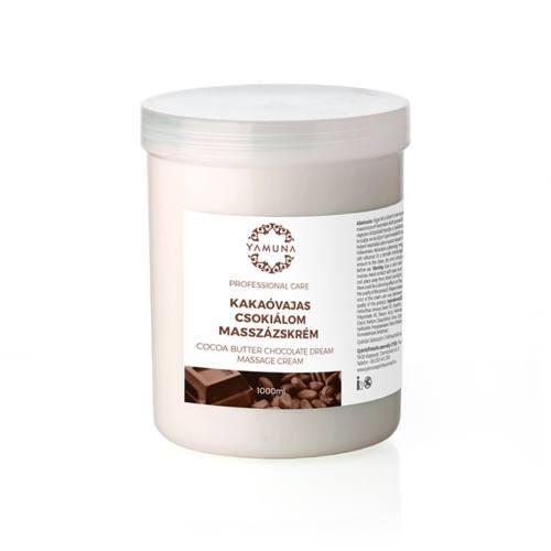 Cremă pentru masaj de ciocolată cu unt de cacao 1000ml
