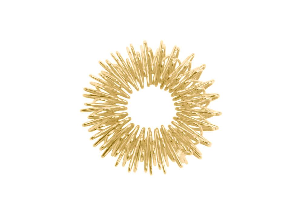 Inel de masaj pentru presopunctură auriu