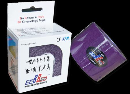 BB tape ICE - mătase artificială 5cm x 5m lila