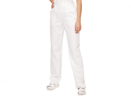 Pantaloni albi femei