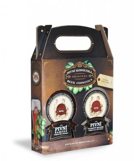 Set de cadouri mini I. – șampon cu bere plus balsam