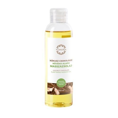 Kokosovo-čokoládový rastlinný masážny olej 250ml