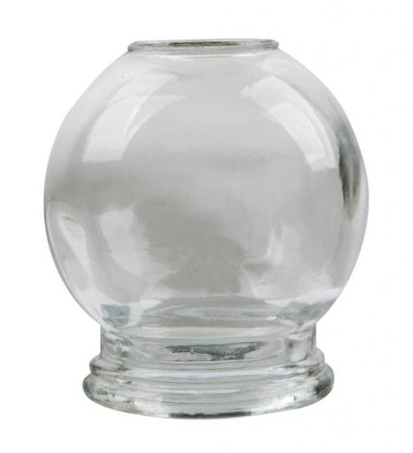 Ventuză de masaj din sticlă 1