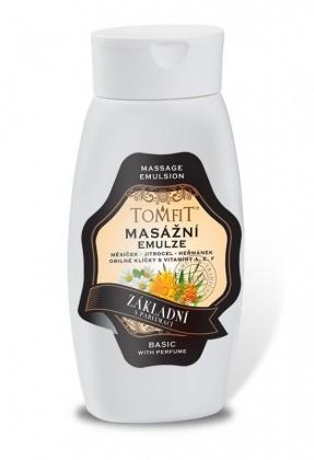 Masážna emulzia Základná s parfumáciou 250ml