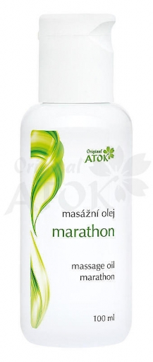 Masážny olej marathon