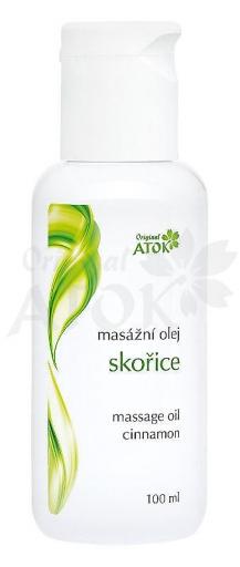 Masážny olej škoricový