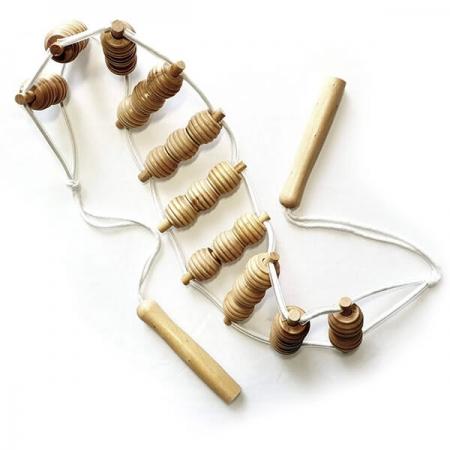 Centură pentru masaj din lemn