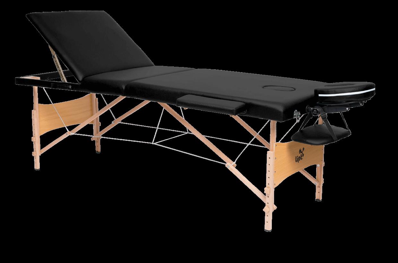 Masă de masaj Lipt® DS-01V Negru
