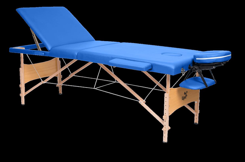 Masă de masaj Lipt® DS-01V Albastru