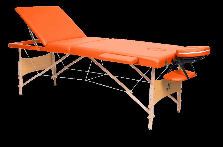 Masă de masaj Lipt® DS-01V Portocaliu