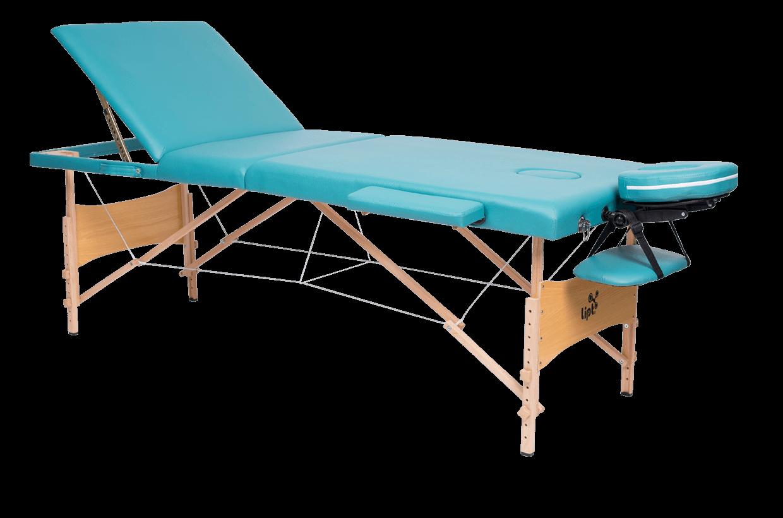 Masă de masaj Lipt® DS-01V Turcoaz