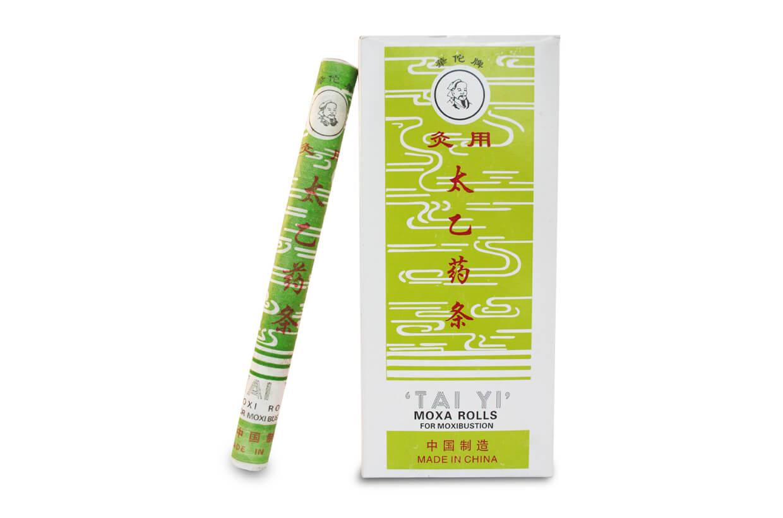 Baton lung din plante pentru moxibustie Tai yi, pentru răceală 10buc