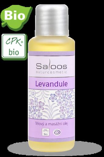 Telový a pleťový masážny olej Levanduľa 250ml