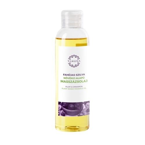 Slivkovo-škoricový rastlinný masážny olej 250ml